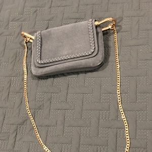 Grey H&M shoulder bag